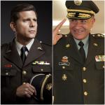 Christian Meier y General Óscar Naranjo