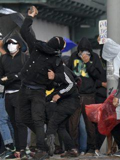 Vándalos que se infiltren en marchas podrán ser identificados, aun si están encapuchados
