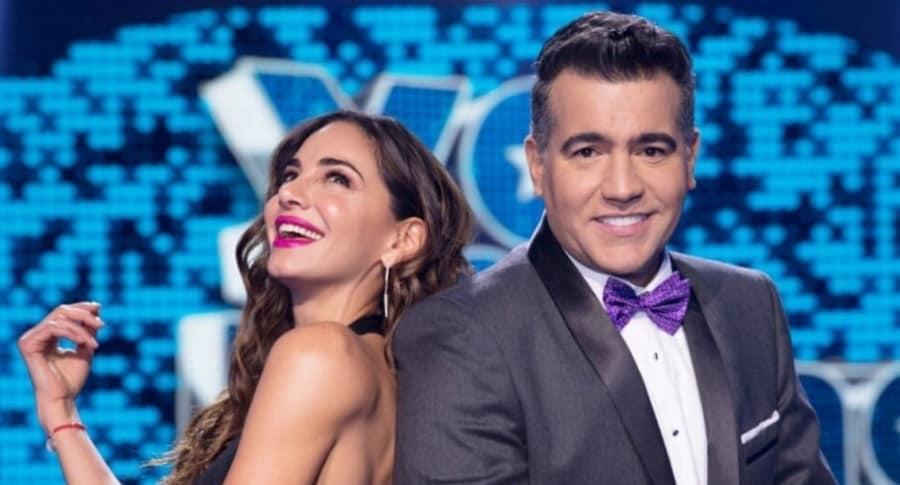 Valerie Domínguez y Carlos Calero