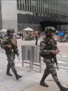 A la ONU no le gustó para nada el aumento de soldados en ciudades por paro nacional