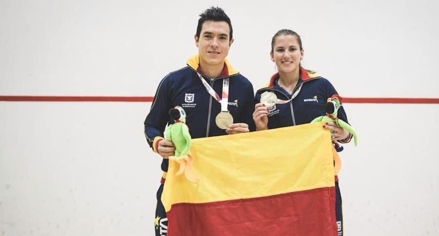 Miguel Ángel Rodríguez y Catalina Peláez