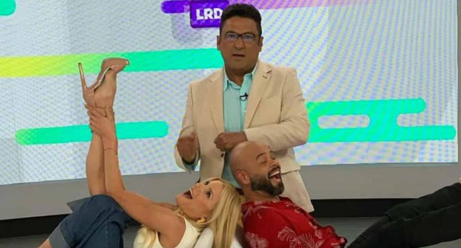 Mary Méndez, Frank Solano y Carlos Vargas