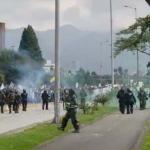 Disturbios en Calle 26