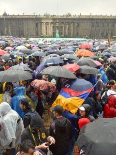 MINUTO A MINUTO: Asistencia masiva al paro nacional de este jueves