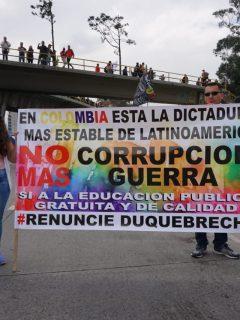 [En vivo] Marchas siguen llegando a la Plaza de Bolívar, en Bogotá