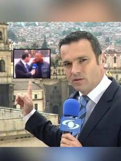 [Video] Ciudadano se vaciló a Juan Diego Alvira en entrevista de paro nacional