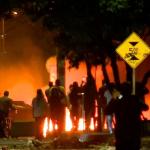 Disturbios en Suba