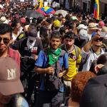 Marchas en Medellin