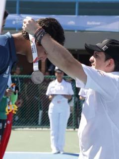 Pese al paro, hubo Juegos Nacionales y ministro premió a medallistas bogotanos