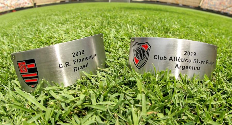 Placas final de la Copa Libertadores