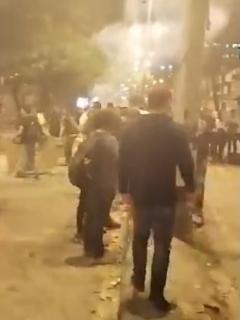 Confusas versiones registraron agitación en Universidad de Antioquia y sus alrededores