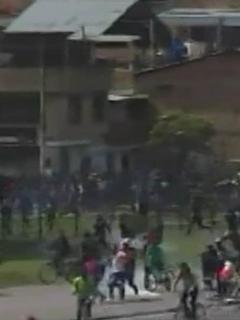[Videos] Disturbios entre manifestantes y el Esmad desatan nuevo caos en Bogotá