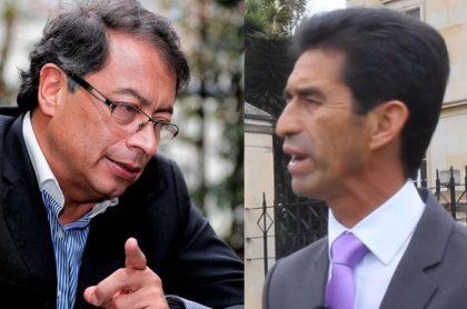 Gustavo Petro y Luis Eduardo Maldonado