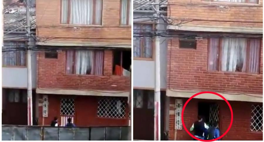 Delincuentes en barrio Molinos.