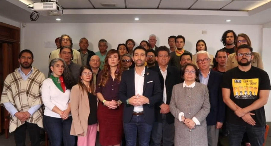 Réplica oposición paro nacional
