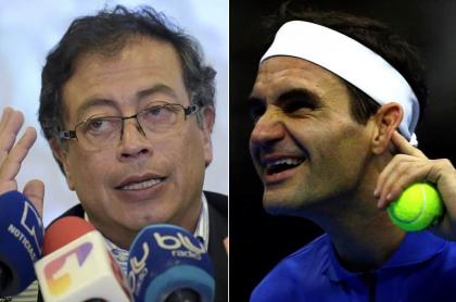 Petro y Federer