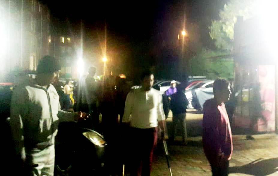 Ciudadanos armados en Suba