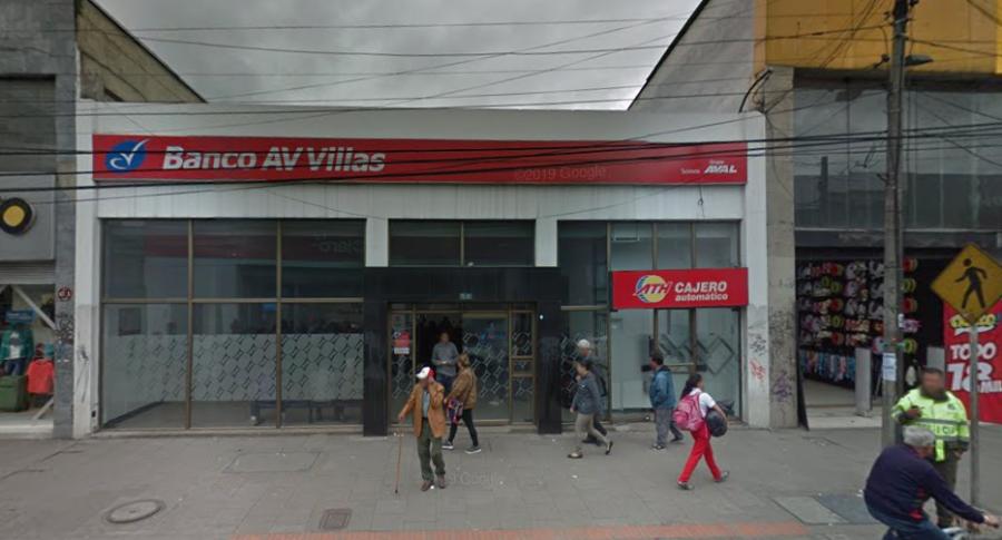 Banco Av Villas Fontibón