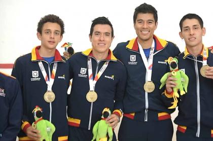 Selección Bogotá de squashelección-Bogotá-de-squash