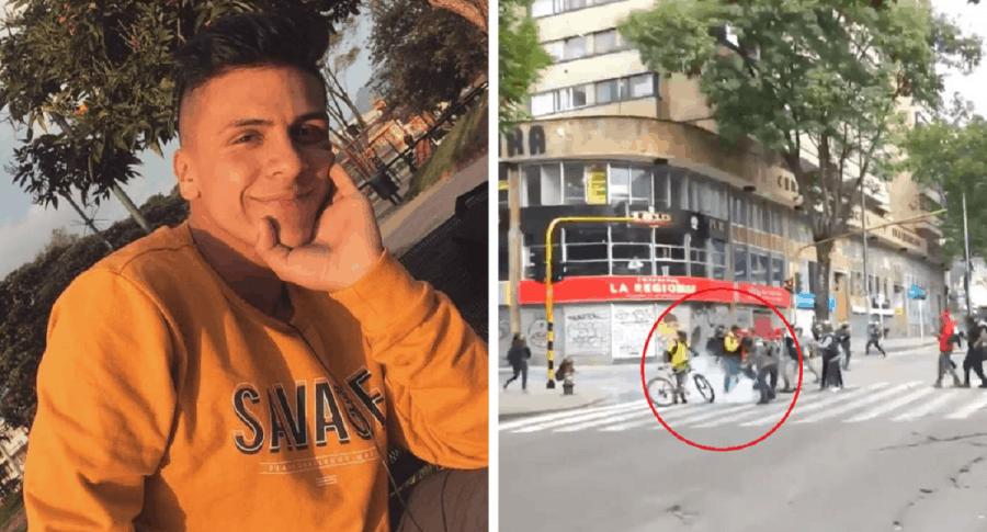 Dylan Cruz / Calle 19 con carrera 4 en Bogotá