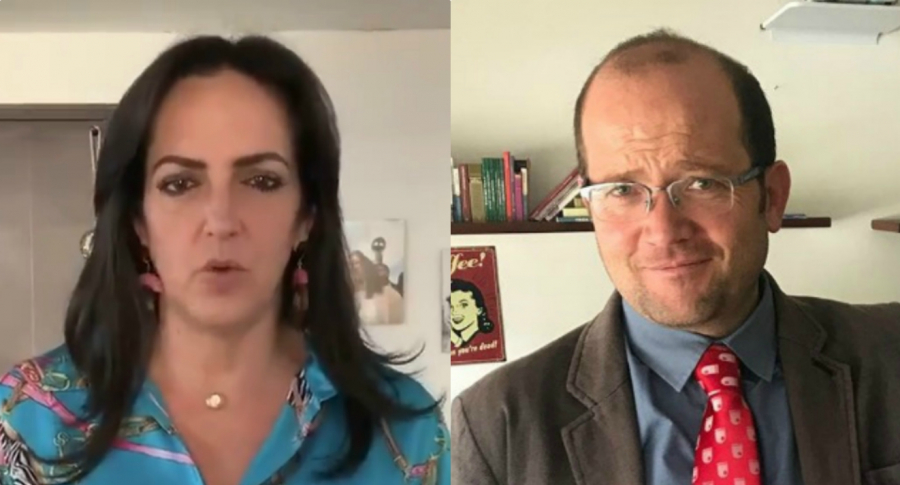 María Fernanda Cabal y Daniel Samper Ospina