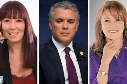 María Jimena Duzán, Iván Duque y María Isabel Rueda