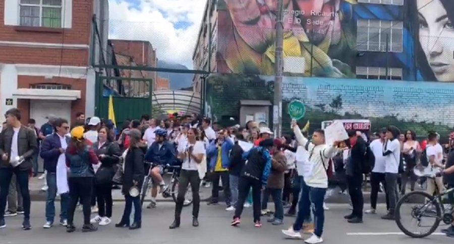 Marcha por Dilan Cruz