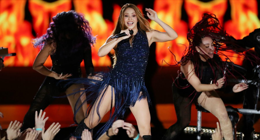 Shakira en Copa Davis