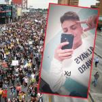 Manifestaciones en Bogotá / Dilan Cru