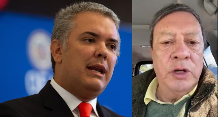 Duque y Mario Hernández