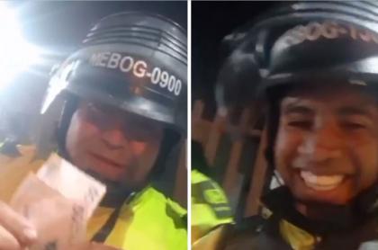 Policías de Bogotá