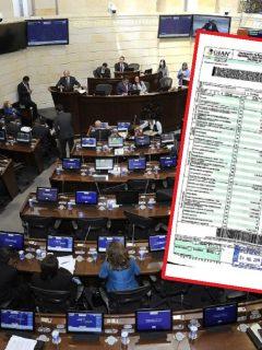 Congresistas dieron luz verde a publicar sus declaraciones de renta ante los colombianos