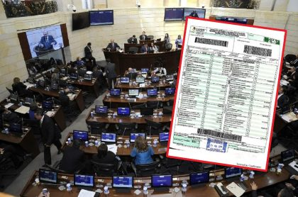 Congreso y declaración de renta