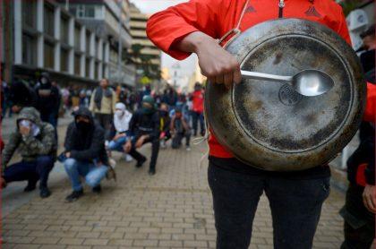 Protestas en Bogotá