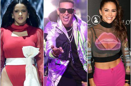 Rosalía, Daddy Yankee y Greeicy