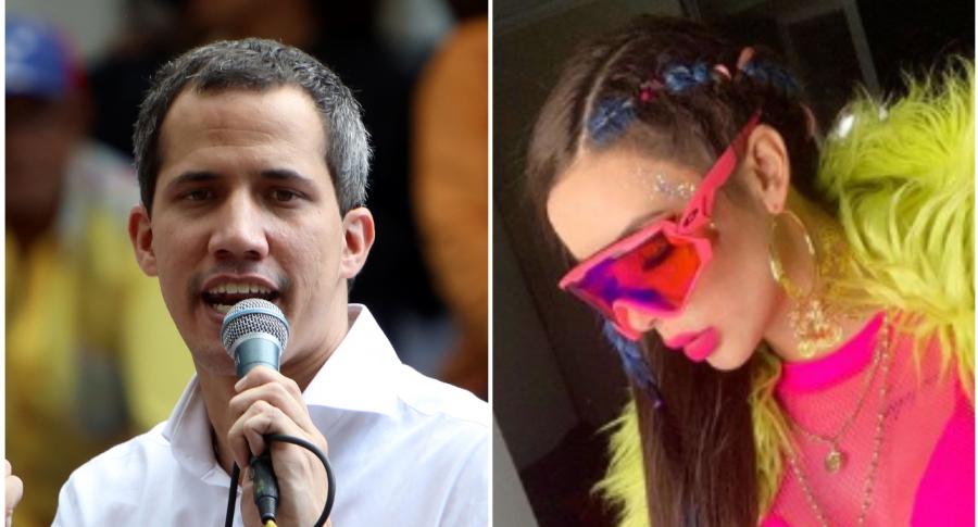 Juan Guaidó y Windy Guaidó