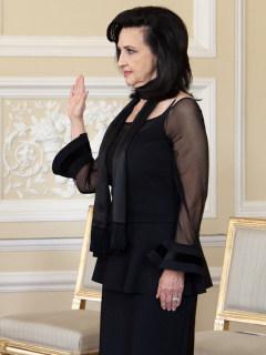 Claudia Blum, nueva canciller