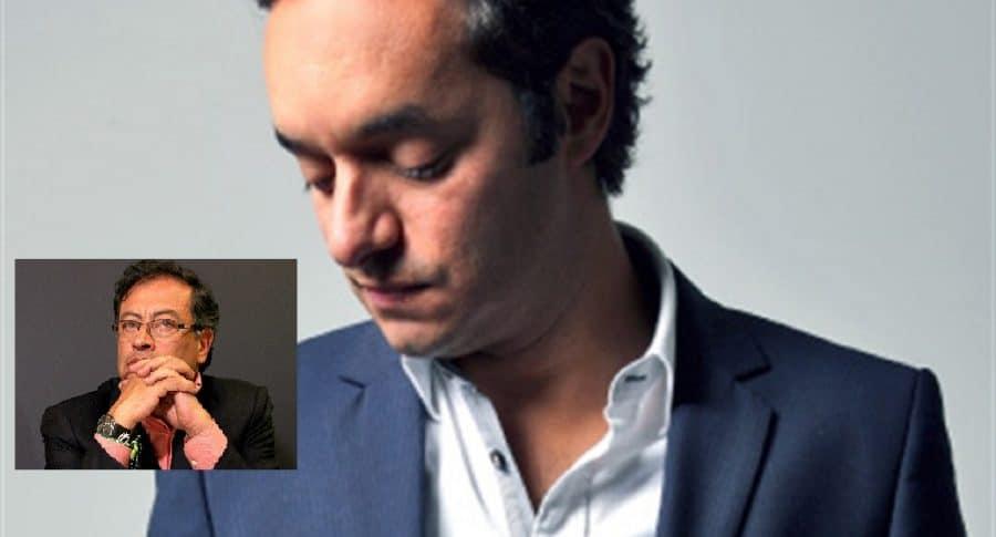 Albero Bernal y Gustavo Petro