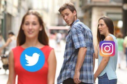 Meme caída de Instagram y facebook