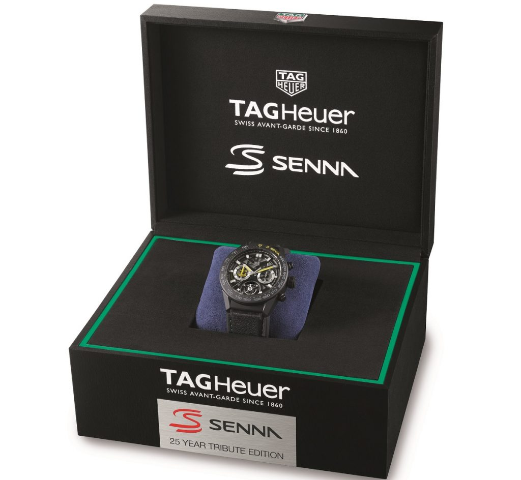 TAG Heuer Carrera Calibre Heuer 02T Ayrton Senna Edición Especial 2019