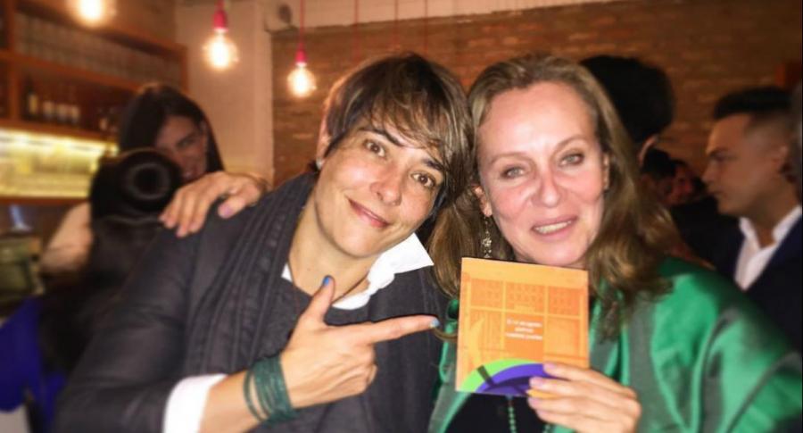 Katrin Nyfeler y Alejandra Borrero