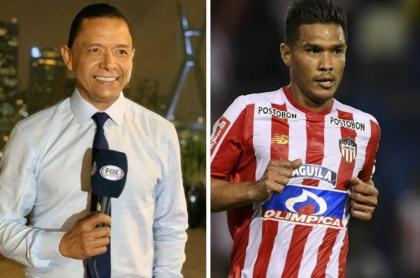 Iván René Valenciano y Teófilo Gutiérrez