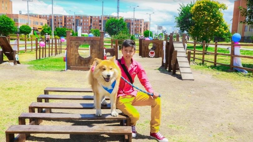 Parque público para perros