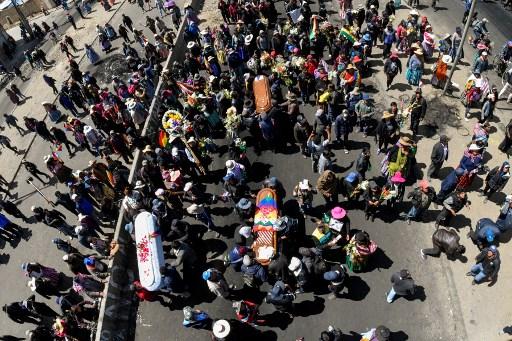Bolivia marchas