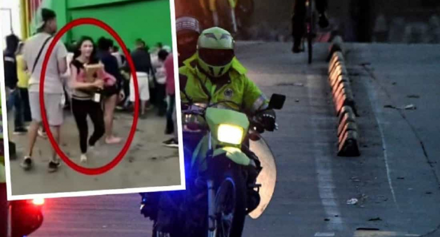 Mujer buscada por saqueo en Bogotá