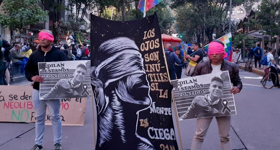 Protesta por Dilan Cruz