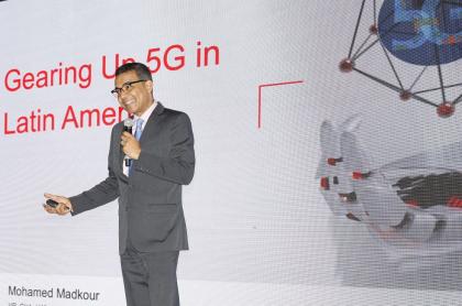 Mohamed Madkour, VP Global de Redes y Soluciones Inalámbricas de Huawei.