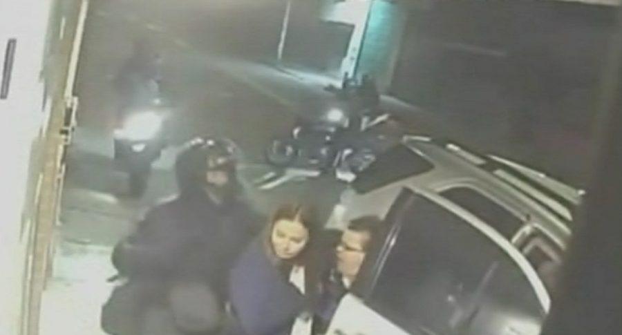 Ladrones en motocicleta