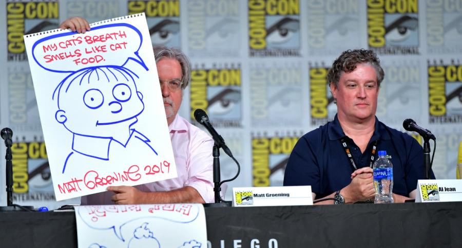 Matt Groening y Al Jean