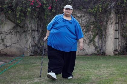 Hombre más obeso del mundo.